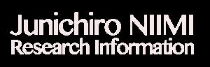 Junichiro NIIMI Research Information